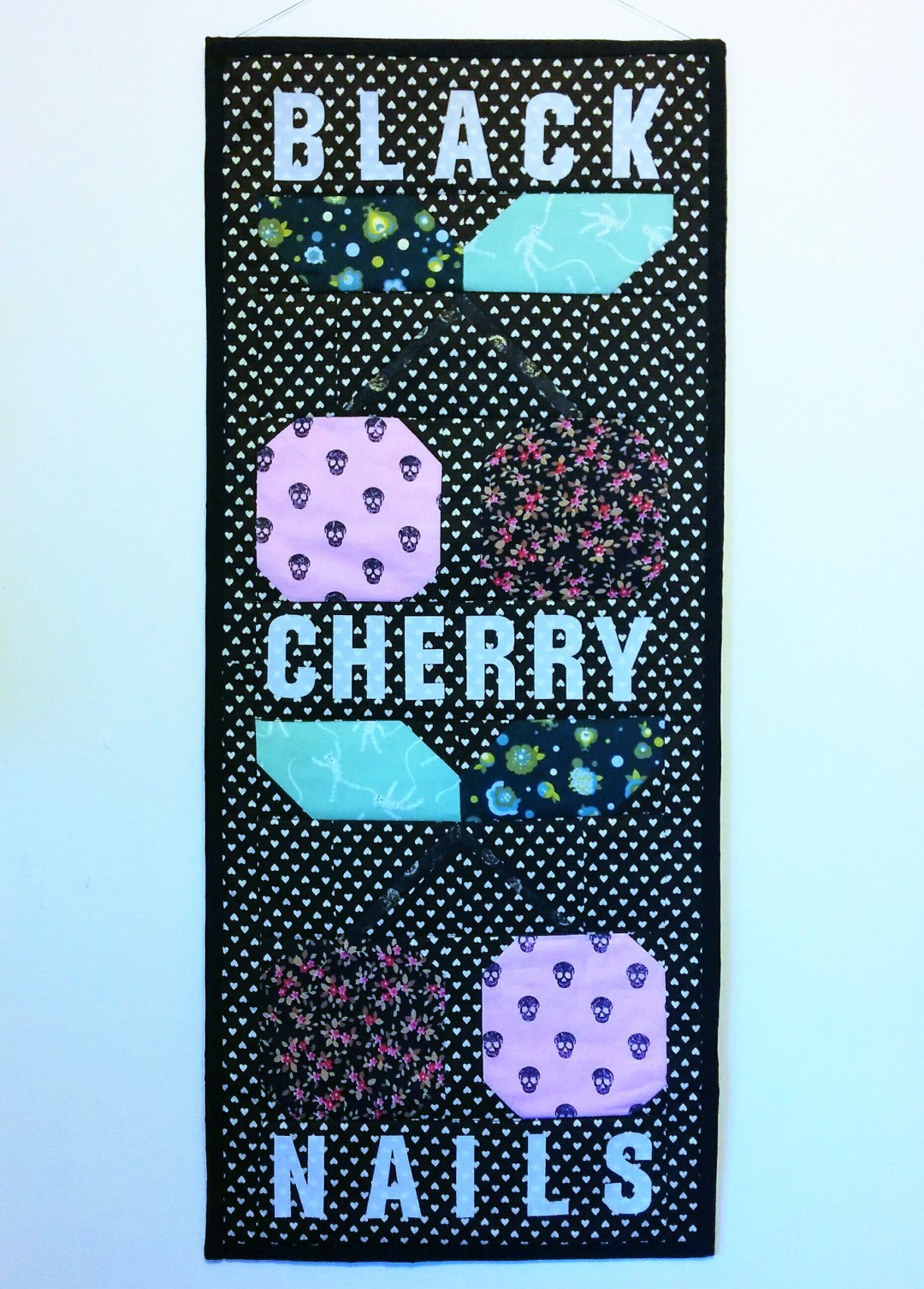 Black Cherry Nails Banner